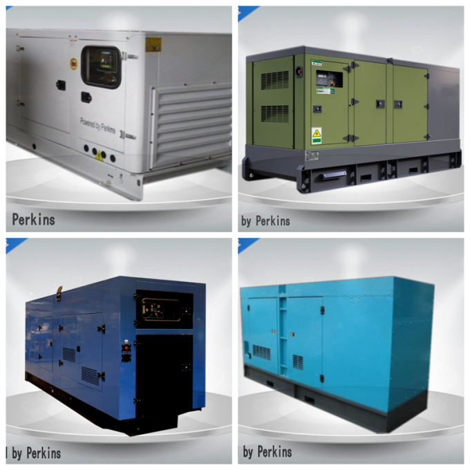 Meccalte Alternator Industrial Genset Synchronous Prime Power 100-200kva 108kw  50 HZ