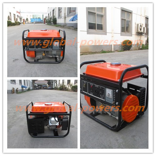 Small Gasoline Genset 850 VA 50 HZ Single Phase Strong Power with Low Noise and Low Fuel Consumption