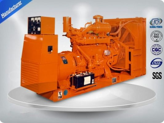 चीन Brushless 3 Phase Gas Generator Set 4 Lines High Efficiency With Electric Starting वितरक