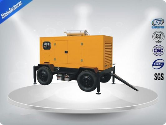 चीन 144kw / 180kva  Diesel Trailer Generator Easy Moving Powered By Perkins Engine वितरक