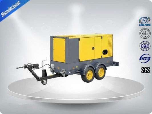 चीन 50 Hz Water - Cooling Silent Genset Trailer 16 Cylinder Prime Power 1480Kw वितरक