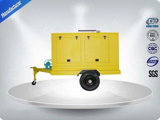 चीन 12 Cylinder 75dB quietest Trailer Mounted Generator large in - line Config with Dry oil filter वितरक
