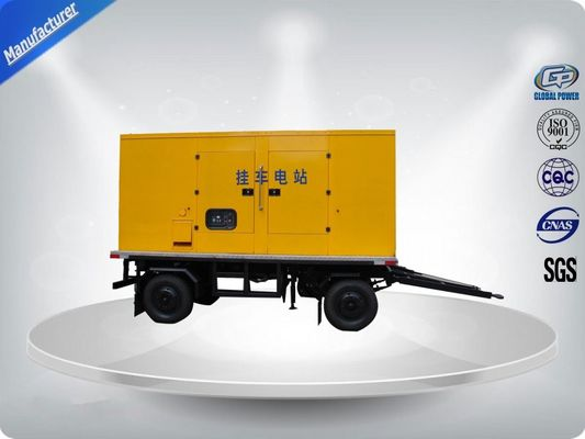 चीन 750Kva 50 Hz 3 Phase Silent Trailer Mounted Generator With Mecc - Alte Alternator वितरक
